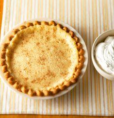 Buttermilk Pie Custard Recipes, Cream Pie Recipes, Baking Recipes, Custard Pudding, Tart Recipes, Pie Dessert, Eat Dessert First, Dessert Recipes, Dinner Dessert