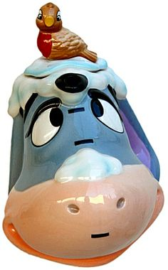 Cardew Teapots Disney Winnie the Pooh Eeyore Teapot Winnie The Pooh Friends, Disney Winnie The Pooh, Eeyore, Tea Cup Saucer, Tea Cups, Antique Cookie Jars, Biscuits, Disney Cookies, Teapots Unique