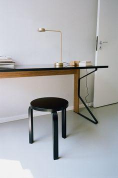 artek s aalto stool 60 lacquered black skandinavischen stil zu hause nordischer stil skandinavisches