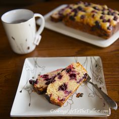 Blueberry, Lemon, Sour Cream Bread