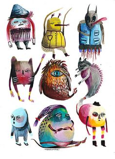 Monster Mix by Cobrinha | Flickr - Photo Sharing!
