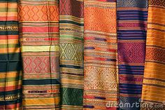Thai Silks by Bryan Busovicki, via Dreamstime
