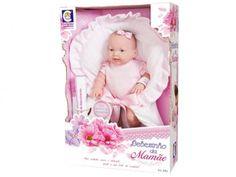 Boneca Bebezinho da Mamãe Pequena - Cotiplás com as melhores condições você encontra no Magazine Raimundogarcia. Confira!
