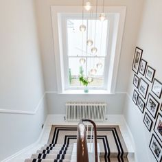 Statement runners #carpet specialists #statementflooring #carpetandflooring #beautifulhallways #carpetonstairs #pinterestinspo Patterned Stair Carpet, Black And White Photography, Light Photography, Stairway To Heaven, Carpet Stairs, Stairways, Animal Print Rug, Gallery Wall, Kids Rugs