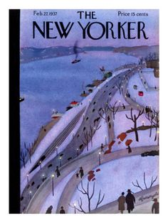 The New Yorker Cover - February 27, 1937.