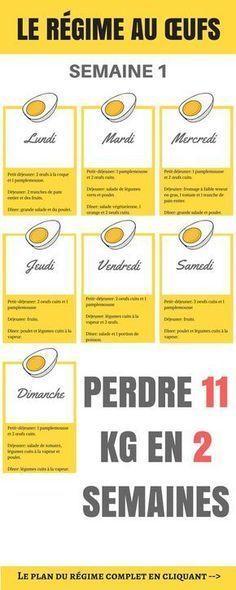 Le régime aux œufs est un régime à faible teneur en glucides et en calories, mais à forte teneur en protéines. Il vous permet de perdre 11 kg en 2 semaines
