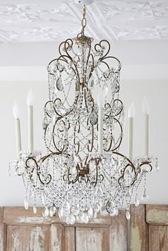 chandeliers make everything infinitely more fabulous.