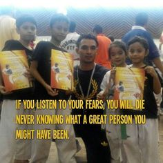 Azlibaloi | If you listen to your fears you will die never knowing what a great person you might have been. Robert H. Schuller