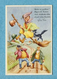 in Collectibles, Postcards, Artist Signed
