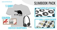 Win a Pack of Headphones, T-shirt and other goodies worth over $200 from Slimbook