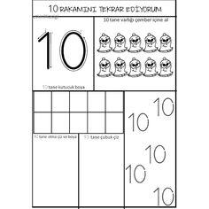 Number Sequence, Numbers Preschool, Finger Plays, Step Kids, Stem Science, Kindergarten Worksheets, Pre School, Alphabet, Classroom