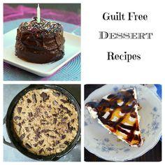 Guilt Free #Dessert #recipes via Baking Beauty
