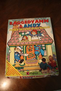 Colorforms Raggedy Ann and Andy Super Deluxe by 1SweetDreamVintage, $25.00