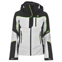 NEVICA-SPORTS-Other Sports-Nevica Demo Ski Jacket Ladies-£100.00-Nevica Demo Ski Jacket Ladies   Hit the slopes in style with the Nevica Demo Ski Jacket thanks to the padded construction and the 10,000mm waterproof and breathable fabric, complete with Nevica branding for a great look.     > Ladies Ski Jacket  > Full zipped front  > Adjustable cuffs  > Inner snow skirt  > Goggle pocket   > MP3 pocket