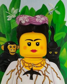 De célèbres peintures imaginées avec des figurines LEGO