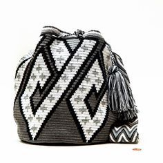 Wayuu Mochila Bag with Crochet Patterns