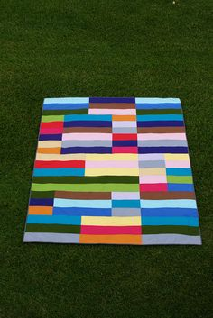 stripe quilt | Flickr - Photo Sharing!
