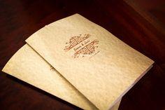 O missal do casamento é um guia que indica aos convidados tudo o que se vai passar durante a cerimónia religiosa. Já prepararam o vosso?