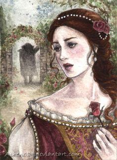 CONTES-AKP-BELLA Y BESTIA Deviant Art, Illustrations, Illustration Art, Botanical Illustration, Beauty And The Beast Art, Fairytale Art, Princesas Disney, Disney Art, Fantasy Art
