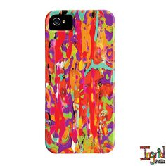 My friend had one of her phone cases and it is gorgeous!!!  Beautiful, vibrant colors and very shiny.