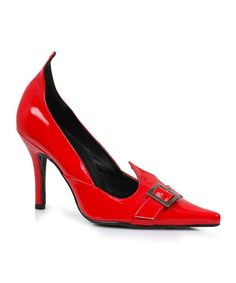 Love this Red Witchy Costume Pump - Women on #zulily! #zulilyfinds