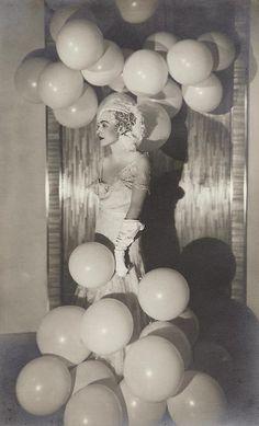 Countess Celani at 'the Bal Blanc, 1930 by Man Ray