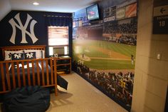 Best New York Yankee Stadium Facade Frieze Wallpaper Border 400 x 300