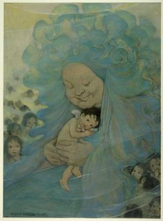 Online Exhibition (The Water-Babies: Illustrations by Jesse Willcox ...471 x 640 | 37.3 KB | www.loc.gov