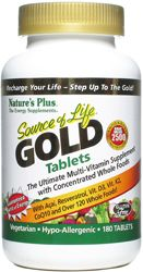 Source Of Life GOLD from A1 supplements 180 tabs