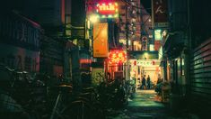 Shibuya's Alley [1920x1080]