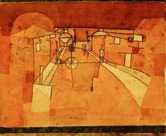 Paul Klee - Strasse im Lager, 1923, 146.