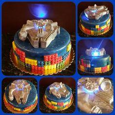Star Wars - Lego torta