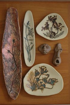 Kathy Boyland - stoneware ceramic impressions, Ugly heads are currently unavailable.