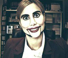 Ventriloquist Dummy  [Halloween Makeup] (creepy doll :s )