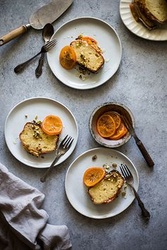 French Yogurt Almond Cake | Slim Palate