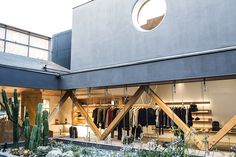 A.P.C.'s New Los Angeles Flagship Shines A Light On Retail Design