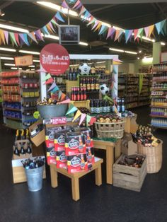 World Cup - Marks and Spencer - Themed Display - Promotions - Supermarket - Grocery - Flags - Visual Merchandising - www.clearretailgroup.eu