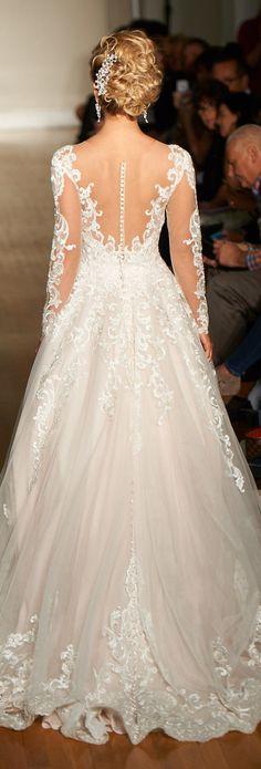 illusion back details wedding dresses 2017