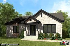 Check out here Home Building Tips Cottage House Plans, Cottage Homes, Home Building Tips, Building A House, Home Renovation, Home Remodeling, Bungalow Homes, Prefabricated Houses, Country Style Homes