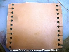 Stitchless Leather Handle Wrap