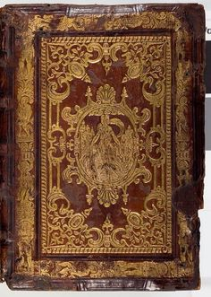 The Bout Psalter-Hours 16th-century gold panel-stamped binding