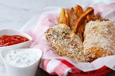 Get Smart With These Delicious Baked Fish & Chips