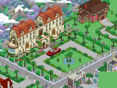 Tapped Out : Villa ; prived