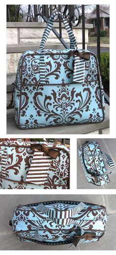 This bag looks sososooo amazing! But after I read the blog entry I've decided never to sew this Amy Butler pattern. It is  not the first time that someone who sews the Travel Weekender calls it a bitch to make