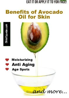 Uses and Benefits of Avocado oil for skin and hair