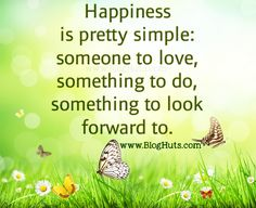 Happiness Is Pretty Simple