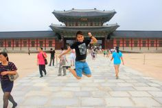 KJS @ Changdeokgung, Seoul, South Korea