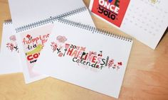 PLANNERS :: NEW! Ecojot HAPPINESS 2013 Calendar - Ecojot - eco savvy paper products