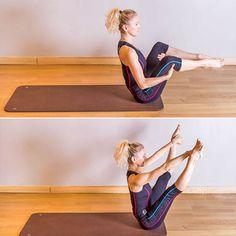 Pilates : Spine Stretch - Pilates : 50 postures de base
