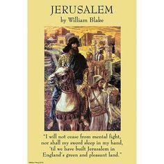 Buyenlarge 'Jerusalem' by William Blake Graphic Art
